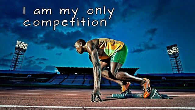 [Image] – I am my only competition