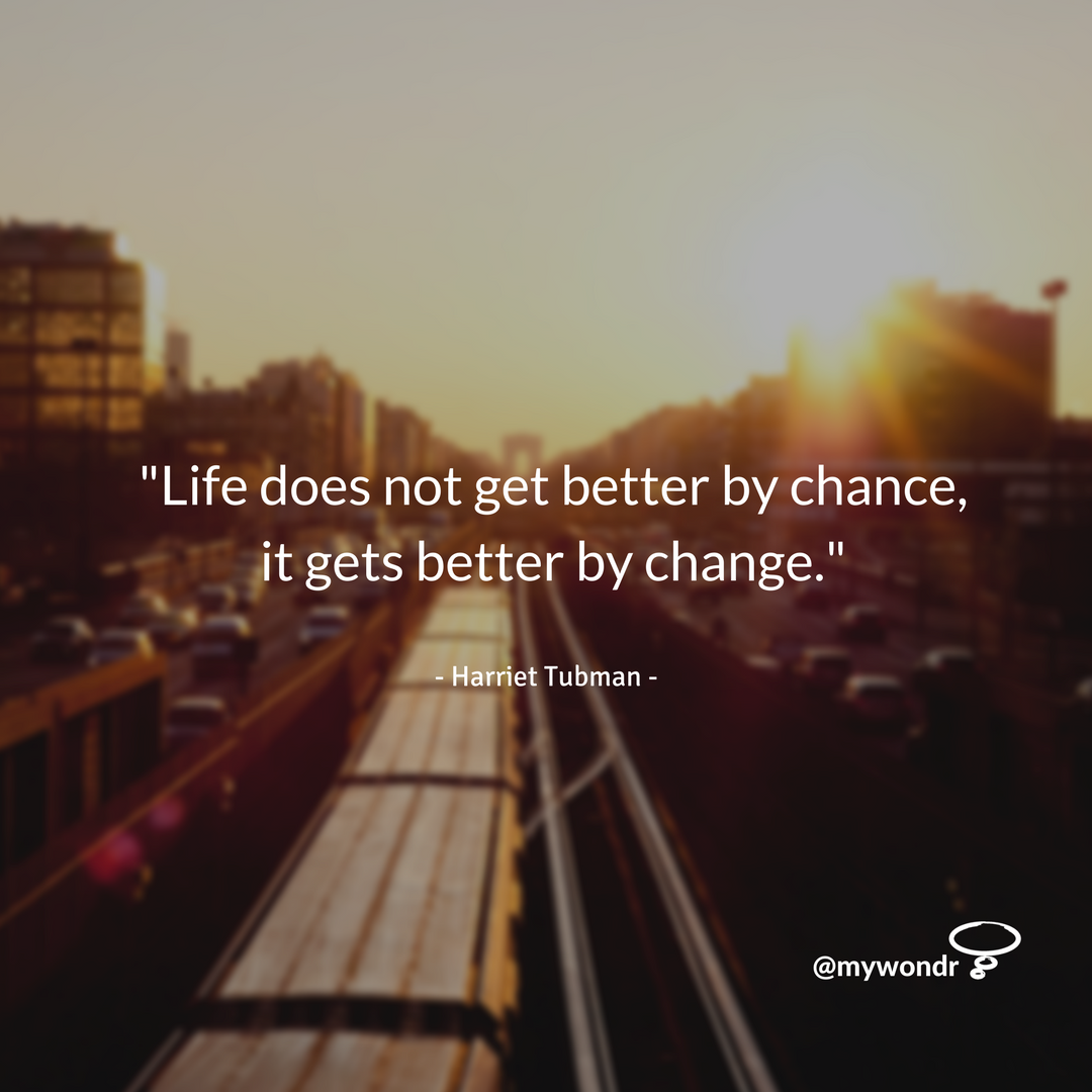 [Image] Life Does Not Get Better By Chance…