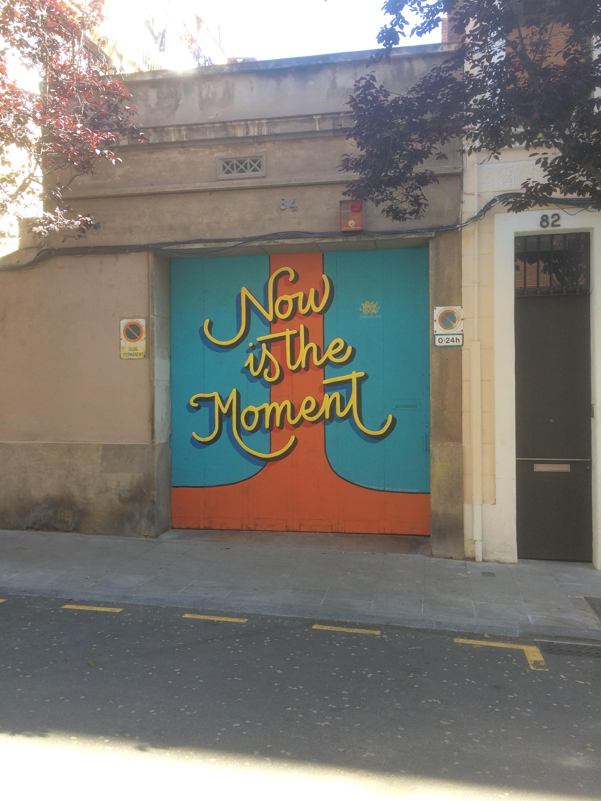 [Image] Now is the Moment