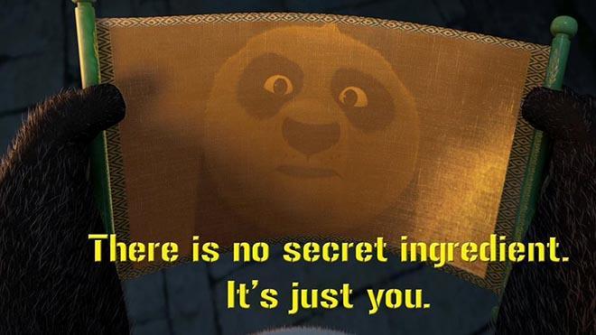 [Image] No Secret Ingredient.
