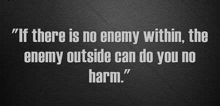 [IMAGE] The Enemy Within…