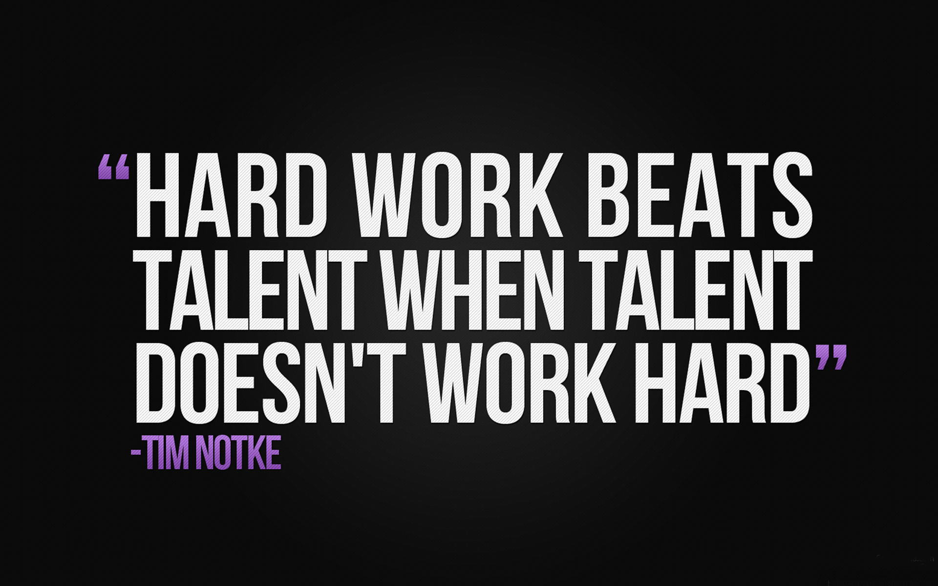 [Image] HARD WORK vs TALENT
