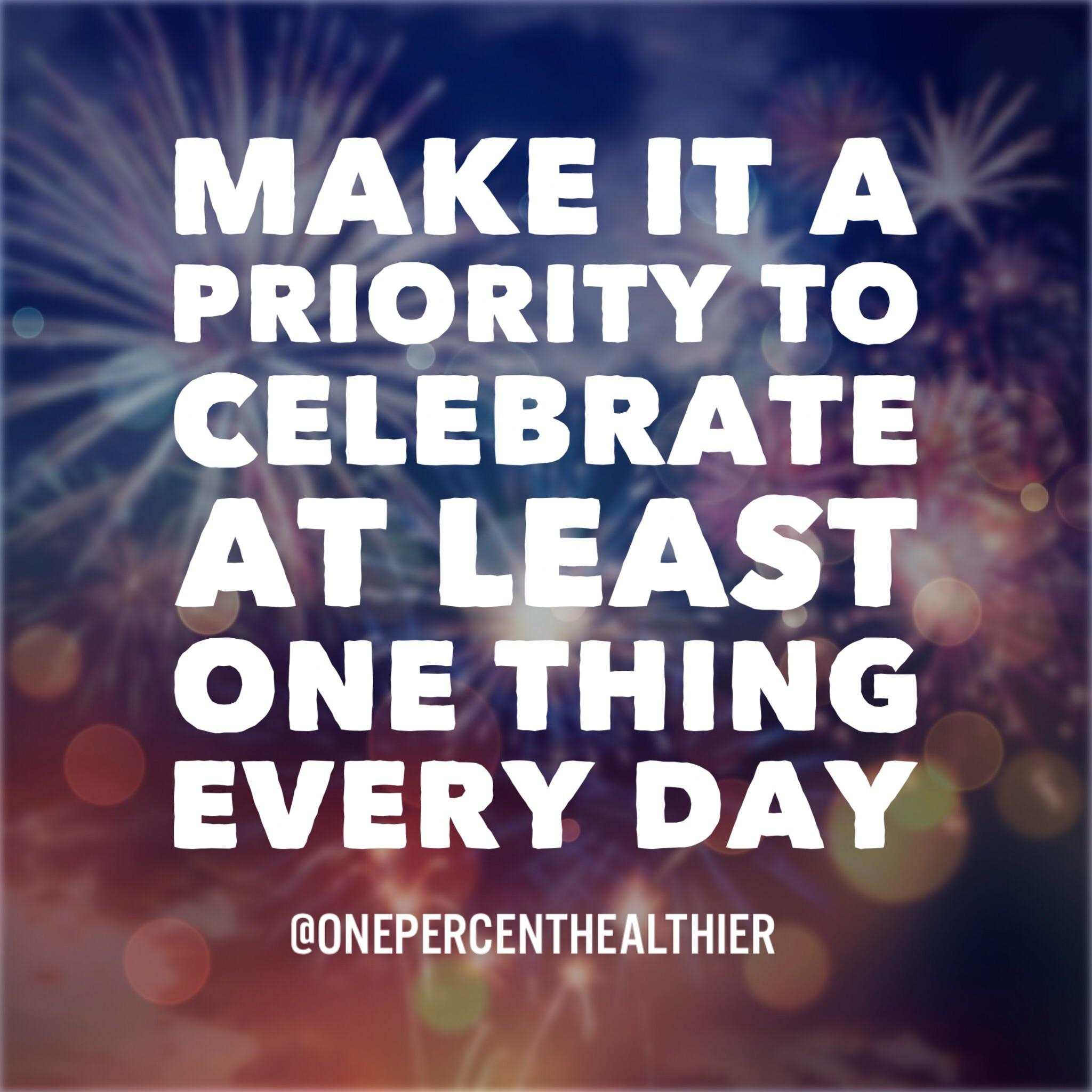 [Image] Don't take the day for granted. Always time to celebrate something!