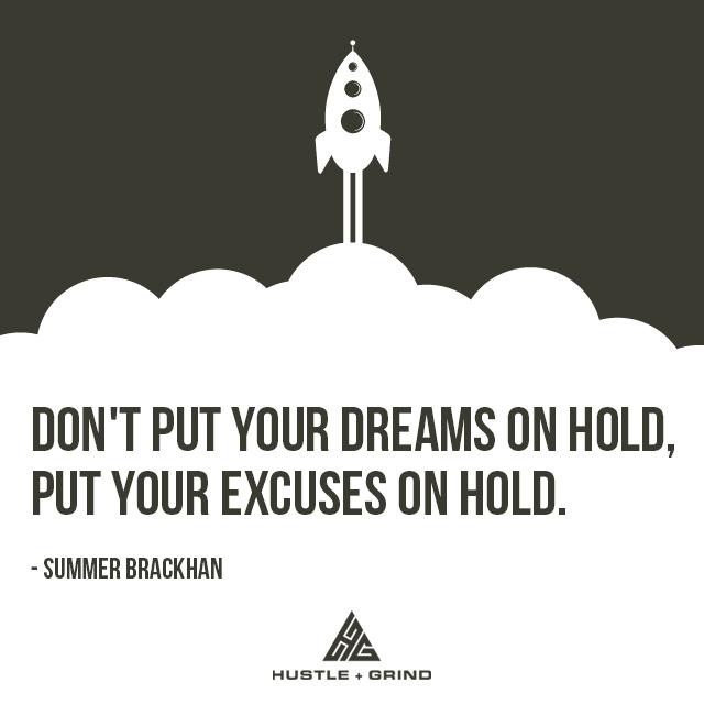 [IMAGE] Make progress or Make Excuses..