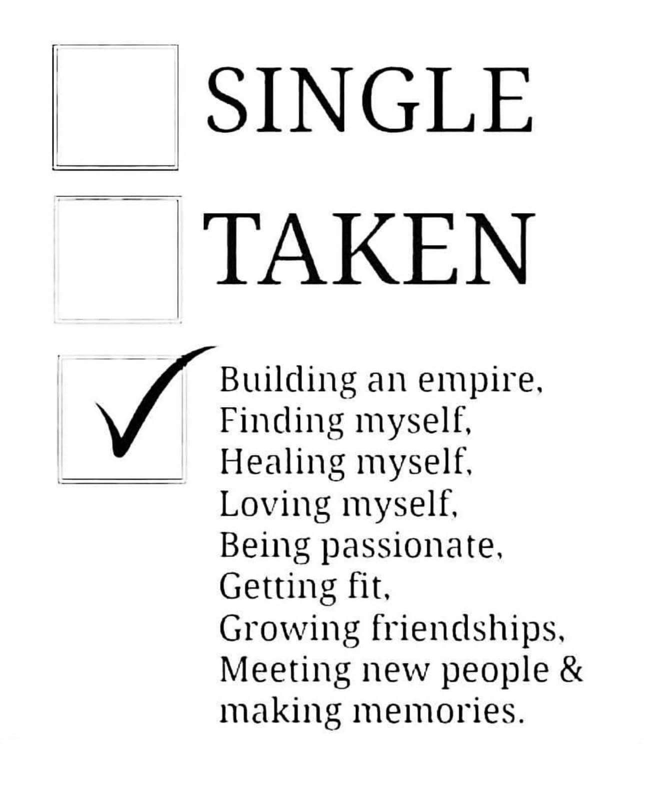 [Image] For all you single folks out there trying to make a better life for yourselves.