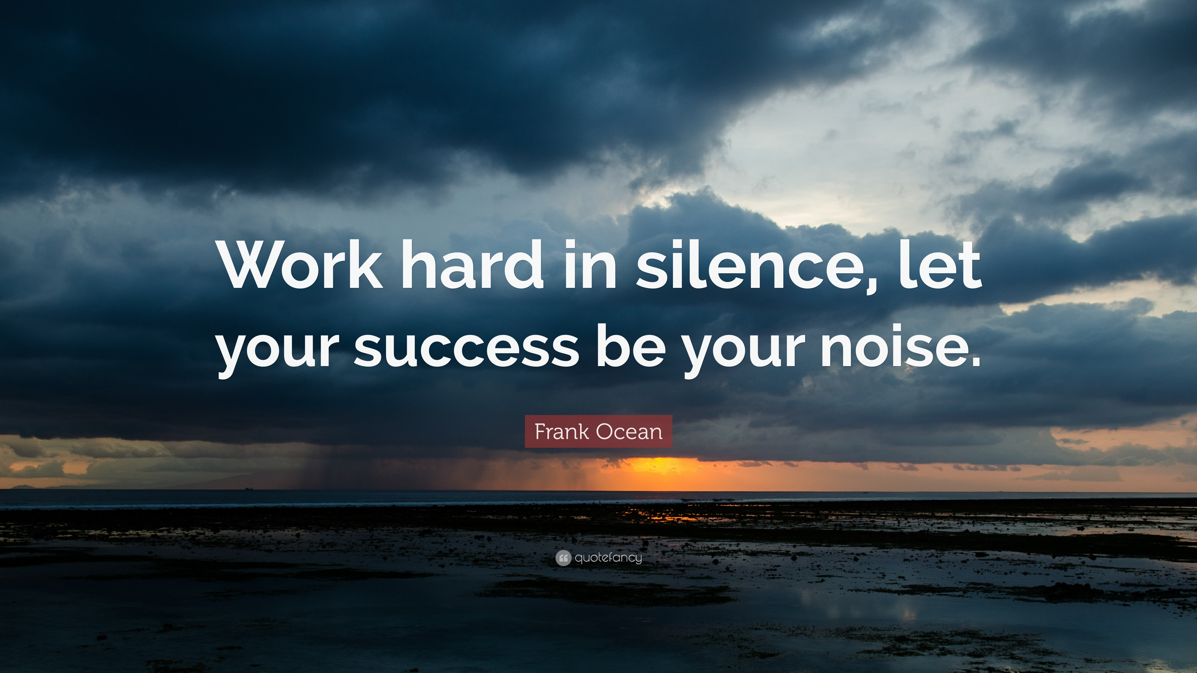 [Image] – Work hard in silence