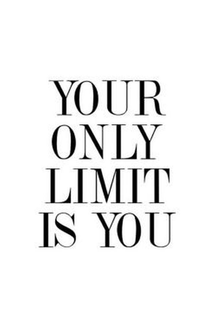 (IMAGE) Your Only Limit Is You