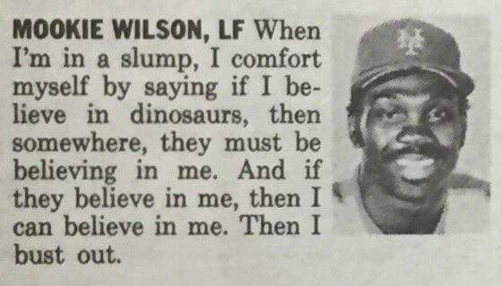[Image] Believe in dinosaurs.