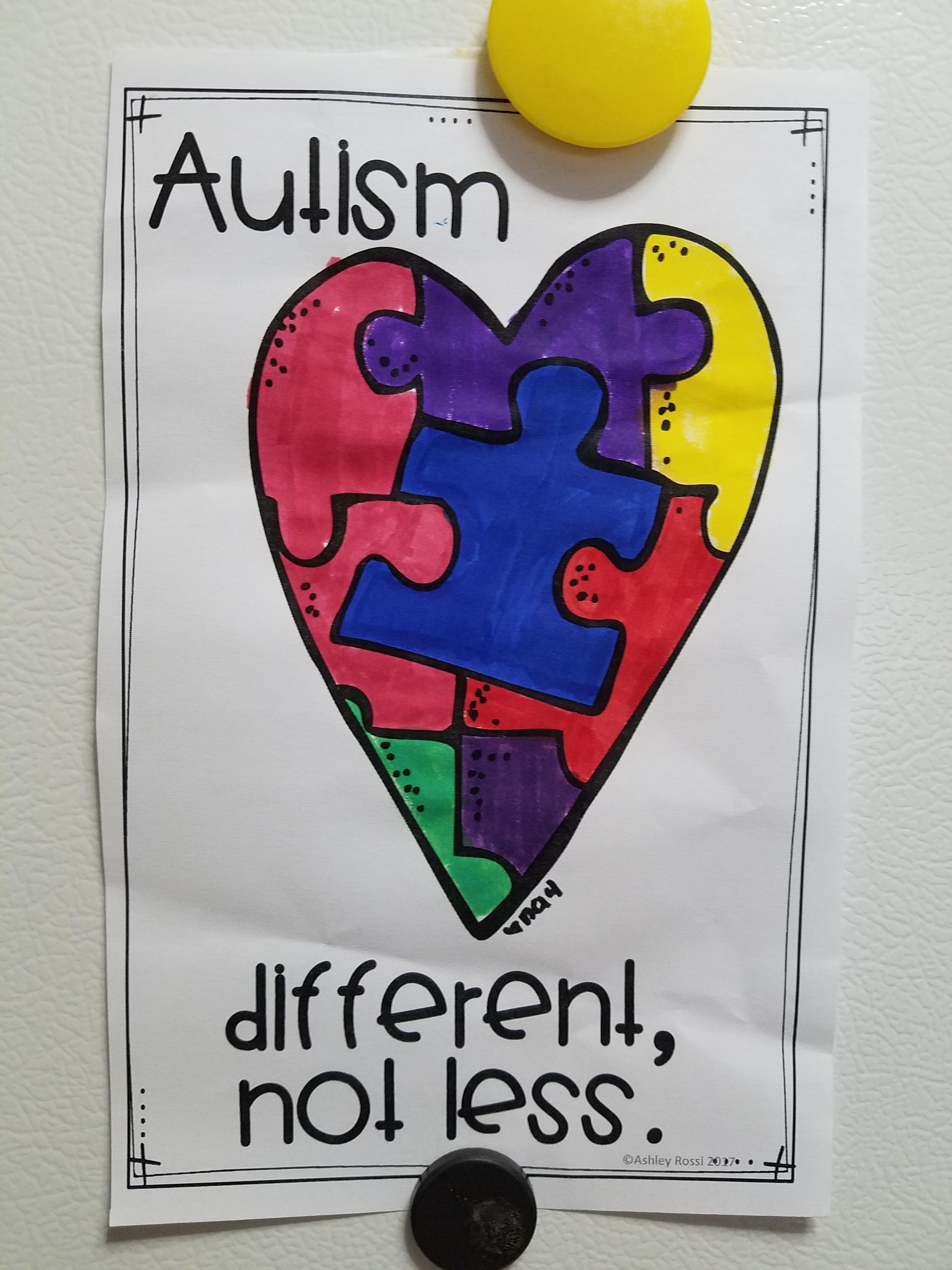 [Image] A Nice Message My 14 Year Old Autistic Brother Brought Home