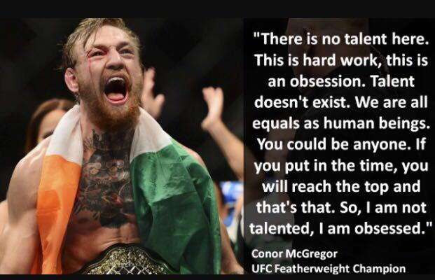 [Image] There is no talent here. This is hard work..