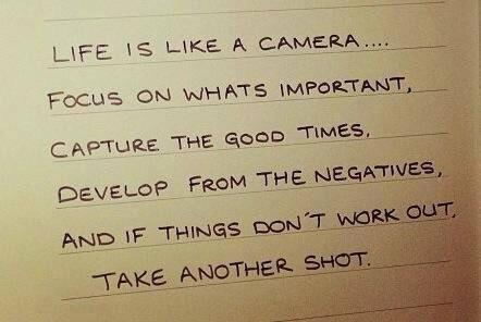 [Image] Keep things in focus!