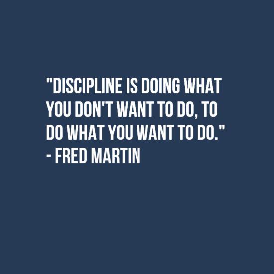[Image] Discipline