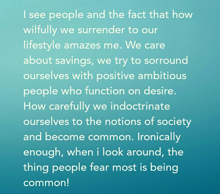 [image] we are commonly special.