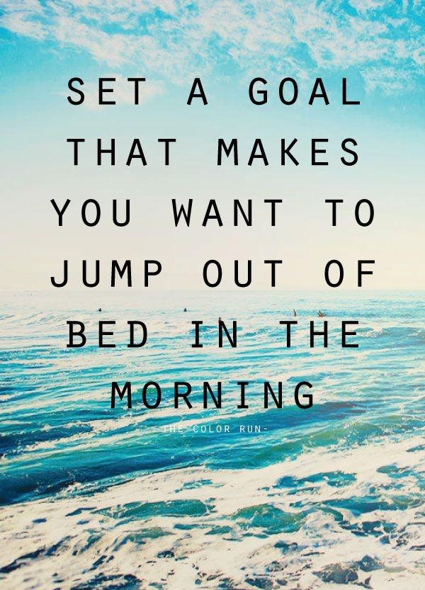 [image] It's the best feeling in the world when you have something to look forward to every single morning. Stay motivated, friends!