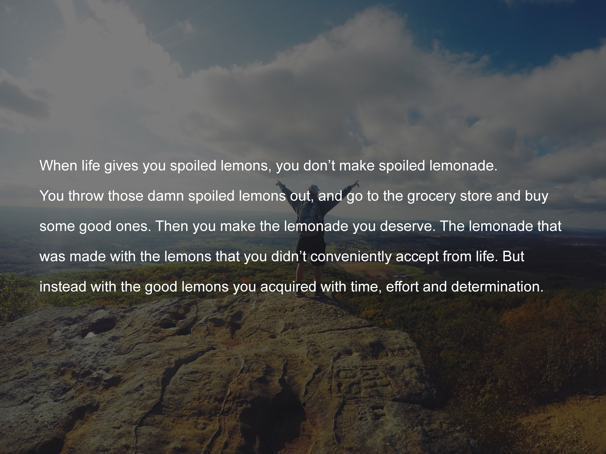 [Image] Life's Lemon