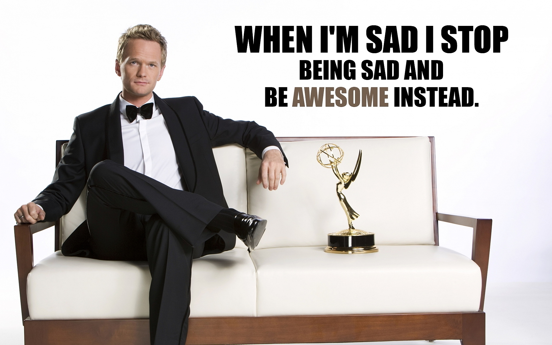 Wise Words From NPH [Image]