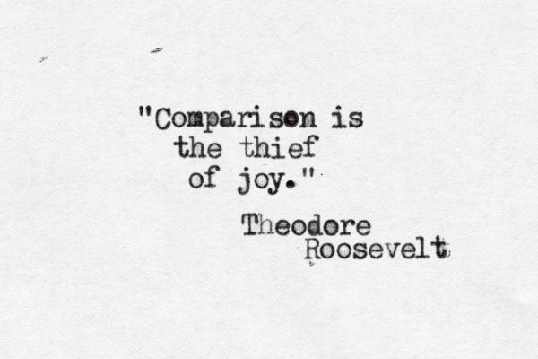 [Image] Best Not To Compare