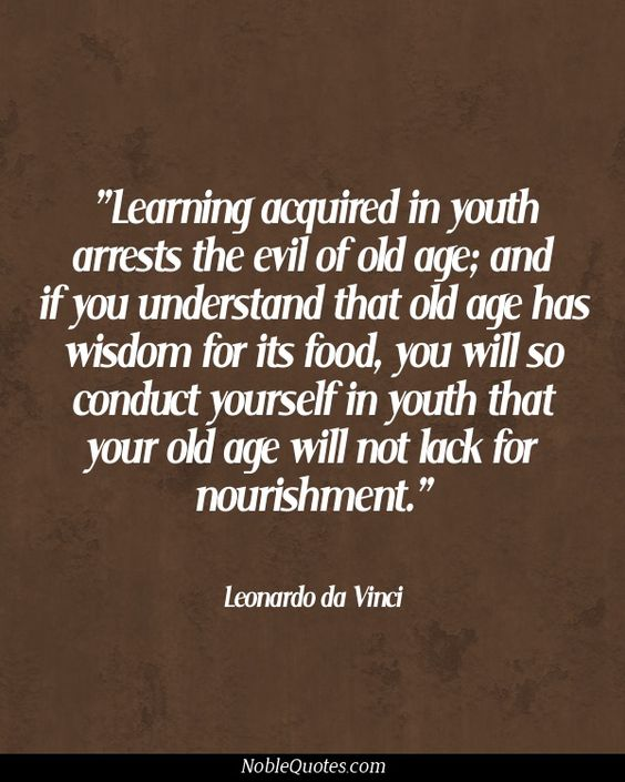 [image] For all young students out there, keep investing in yourself.