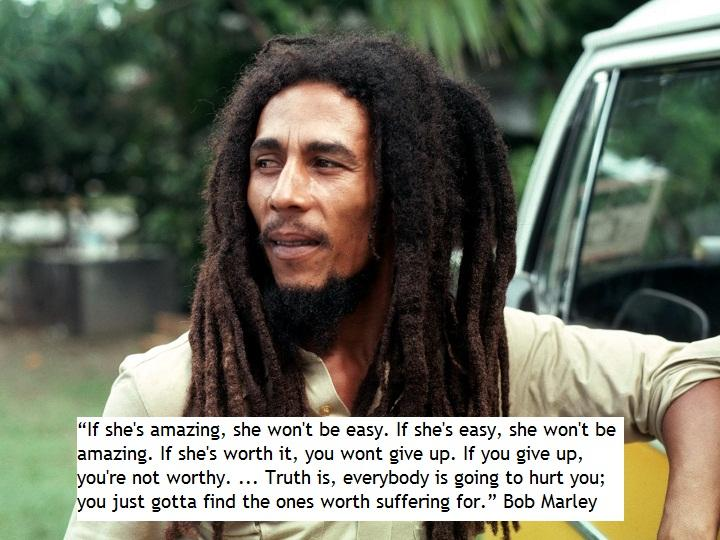 [Image] Love, according to Bob Marley.