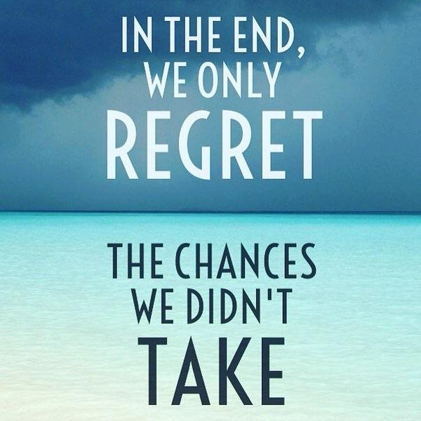 [image] Regret isn't an option, make your dreams reality!