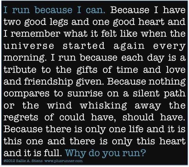 [Image] Why do you run?