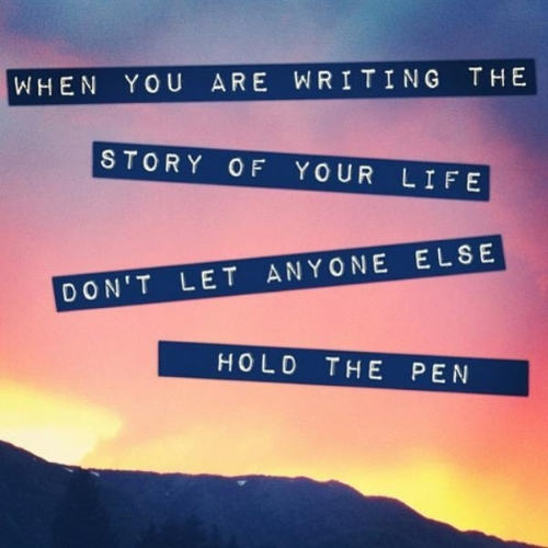 [Image] Don't let anyone else hold the pen
