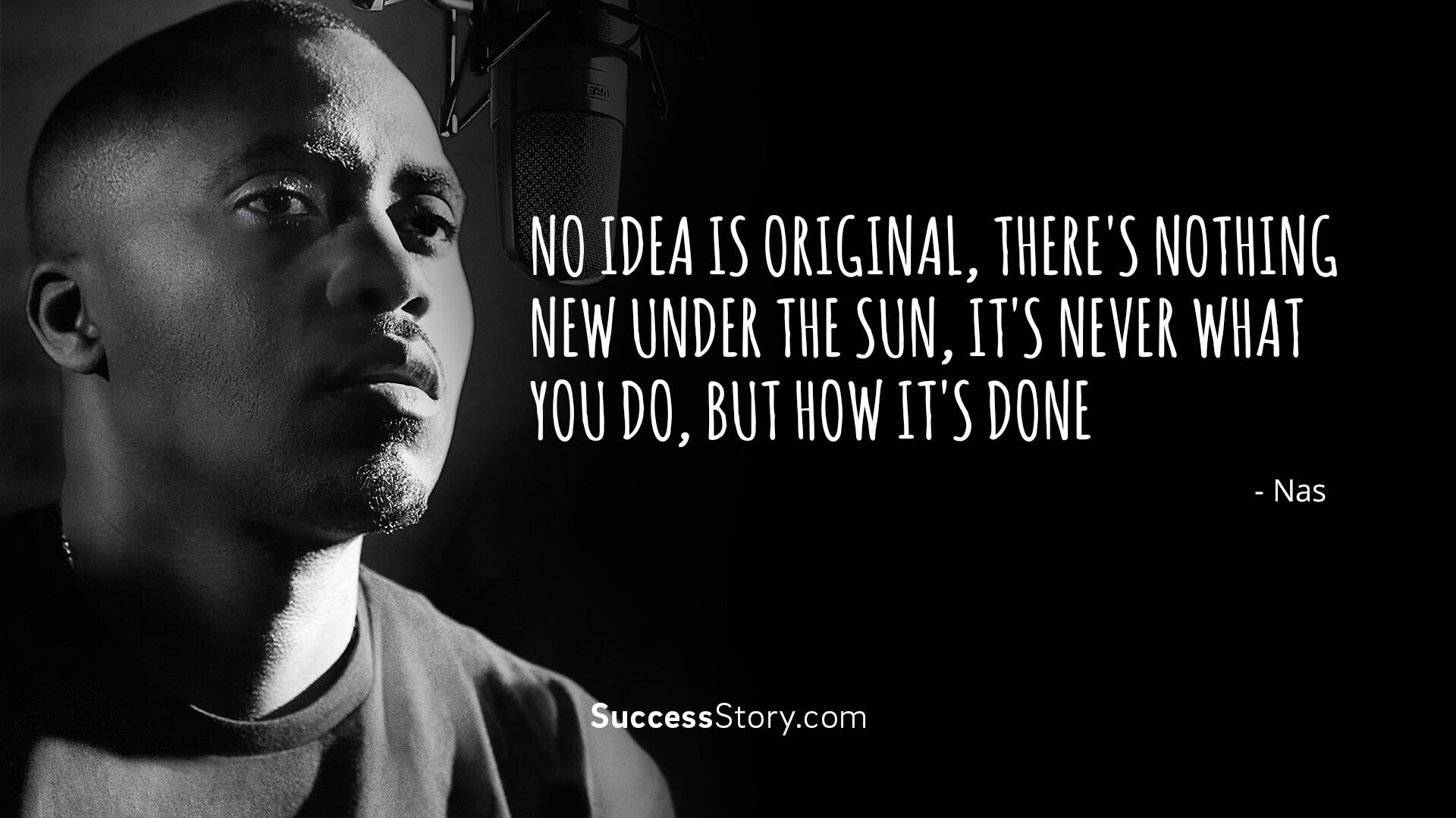[image] no idea is original