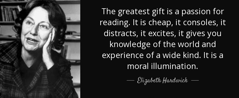 [Image] Reading is the greatest gift….