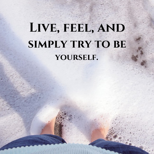 [Image] Live, Feel…