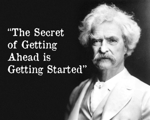 [Image]The Secret Of Getting Ahead
