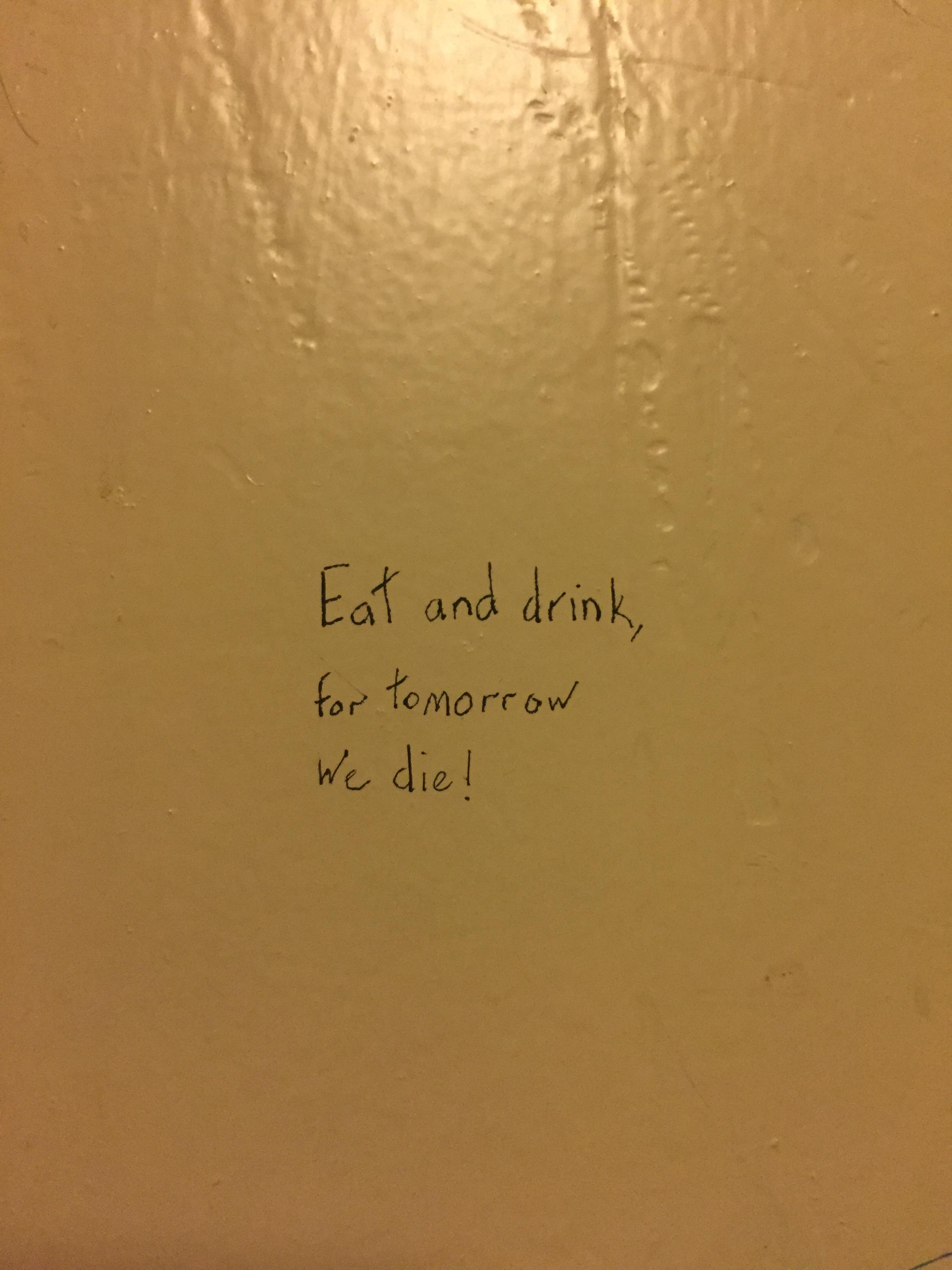 [image] Toilet stall pep talk