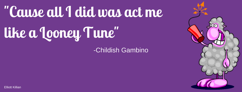 [Image] Childish Gambino – Act like a looney Tune