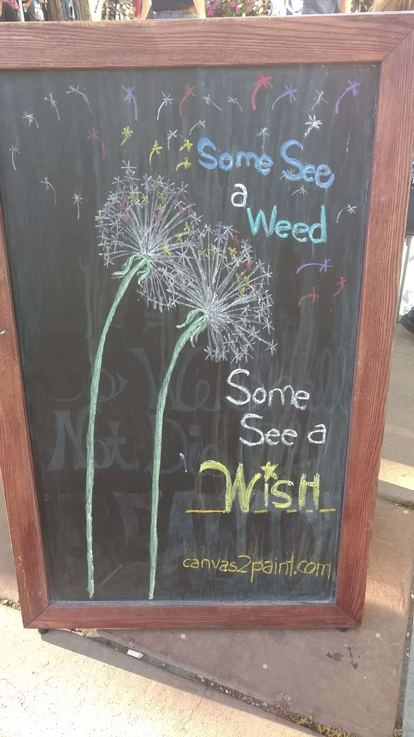 [image] Some see a weed… Some see a wish