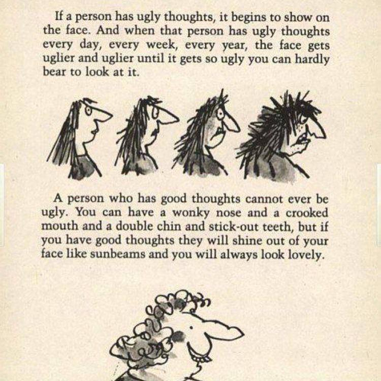 [Image] roald Dahl would have been 100 last week, here are some of his wise words