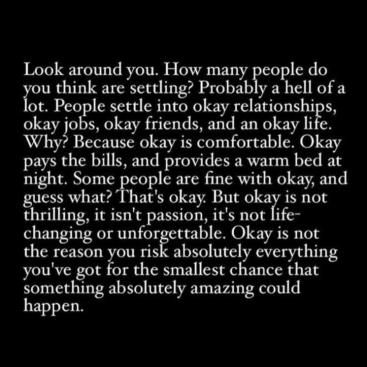 [Image] Better Than Okay