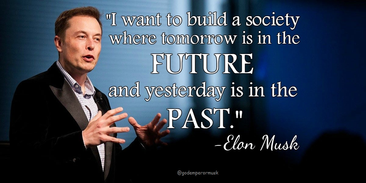 [Image] Moving towards the future