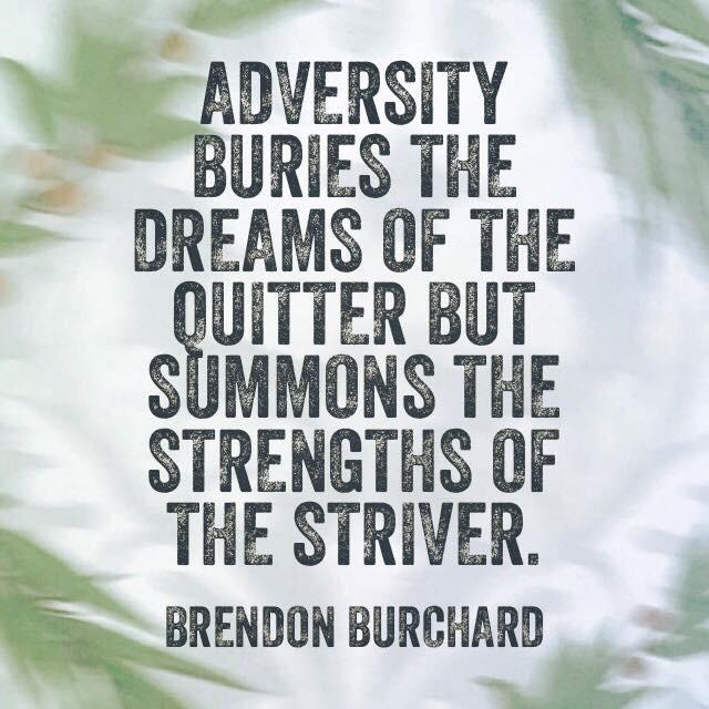 [Image] Adversity is key