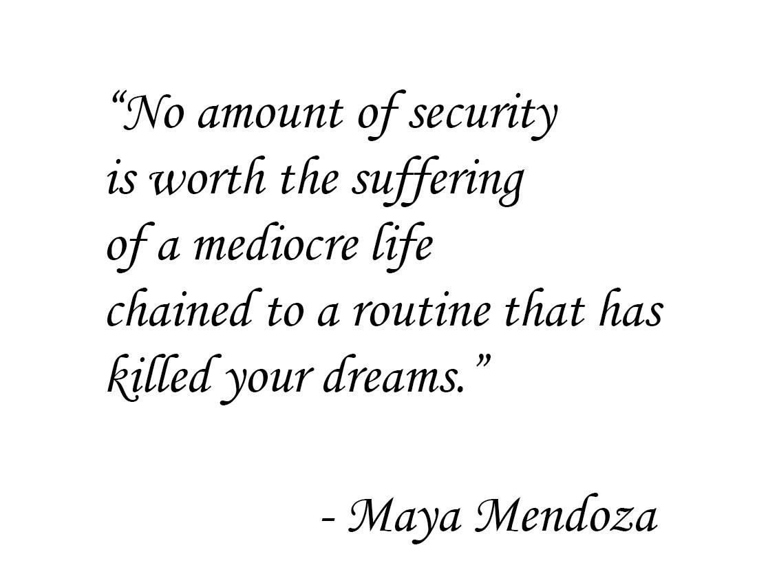 [image]No amount of security is worth…
