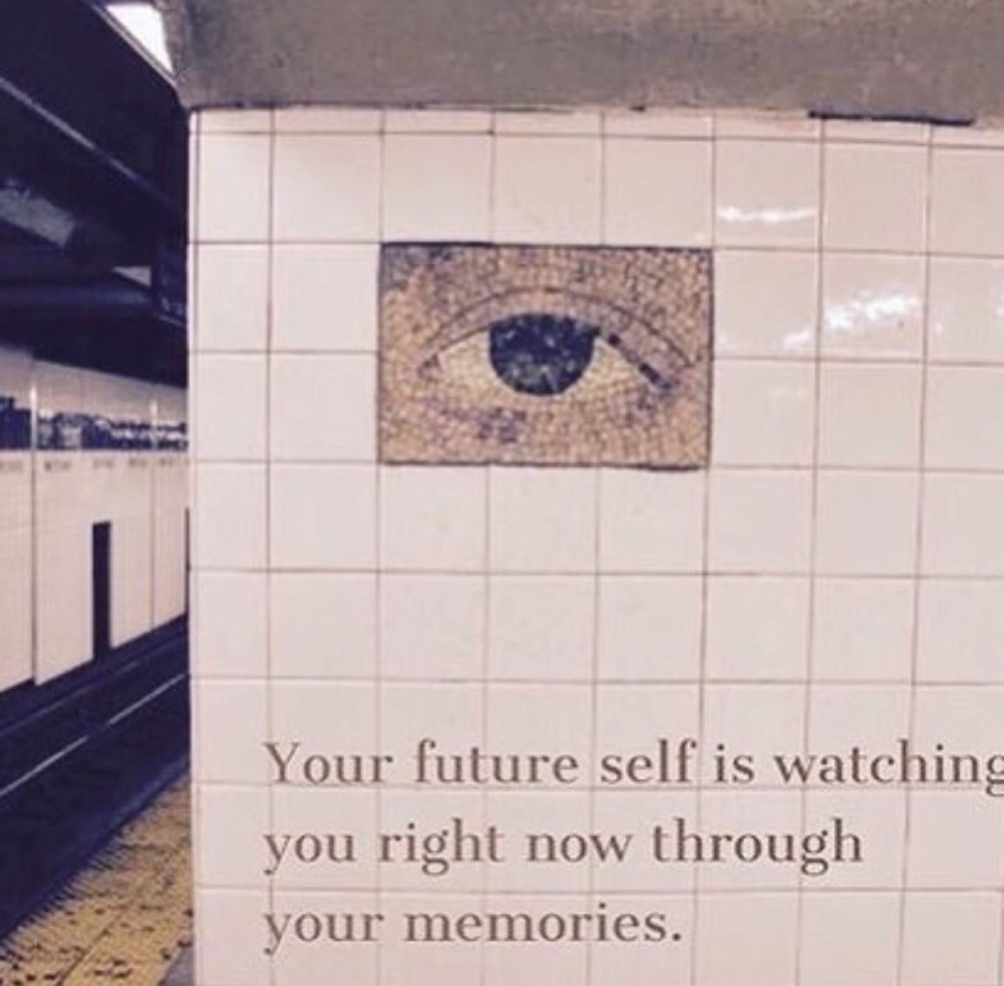 [Image] Its not the quality of the picture that matter; but the message.