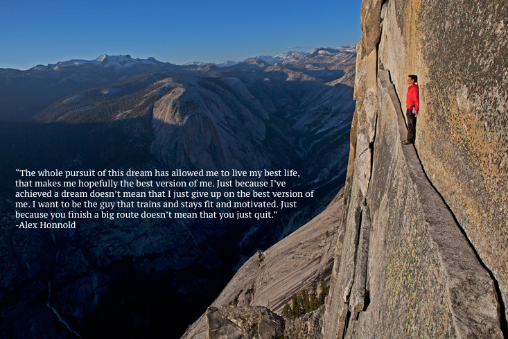 [Image] Climber Alex Honnold after he Scaled el Capitan without ropes for the first time in history