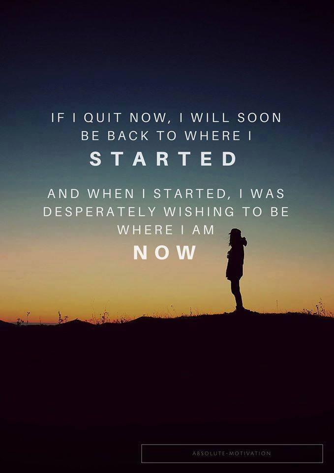 [Image] If i quit now…