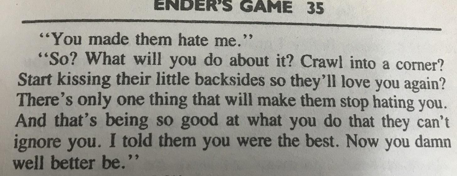 [Image] Ender's Game.