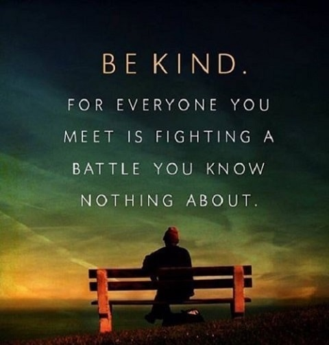 [Image] Be kind