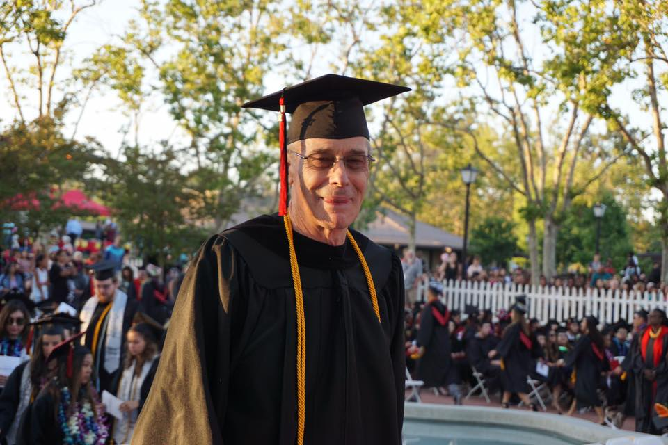 "[Image] My 72-year-old dad graduated college with honors last weekend (A.S. Environmental Horticulture and Design) He is a vietnam era veteran and a first generation college graduate. his turn! ""You are never too old to set another goal, or to dream a new dream."" ― C.S. Lewis"