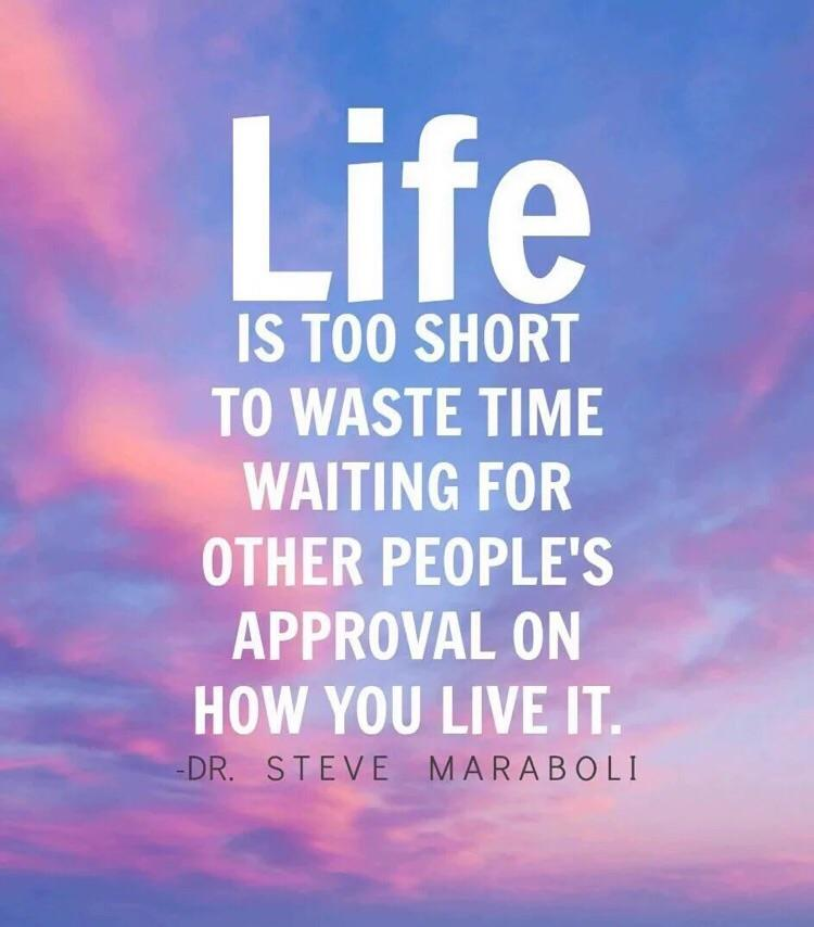 [Image] Life is too short…
