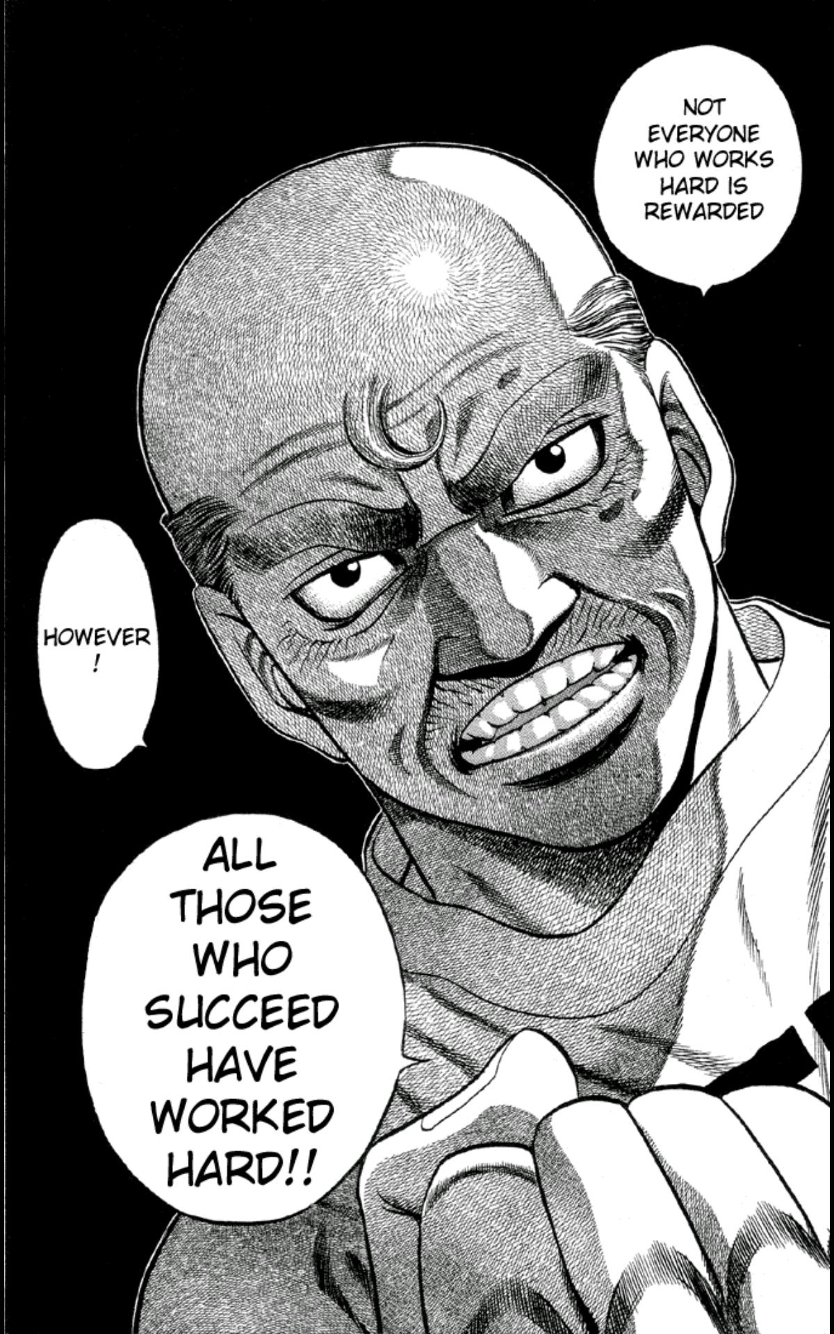 [Image] Wise words from the Manga Hajime no ippo