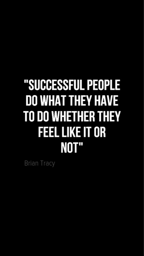 "[Image] ""Successful people"" … Brian Tracey"