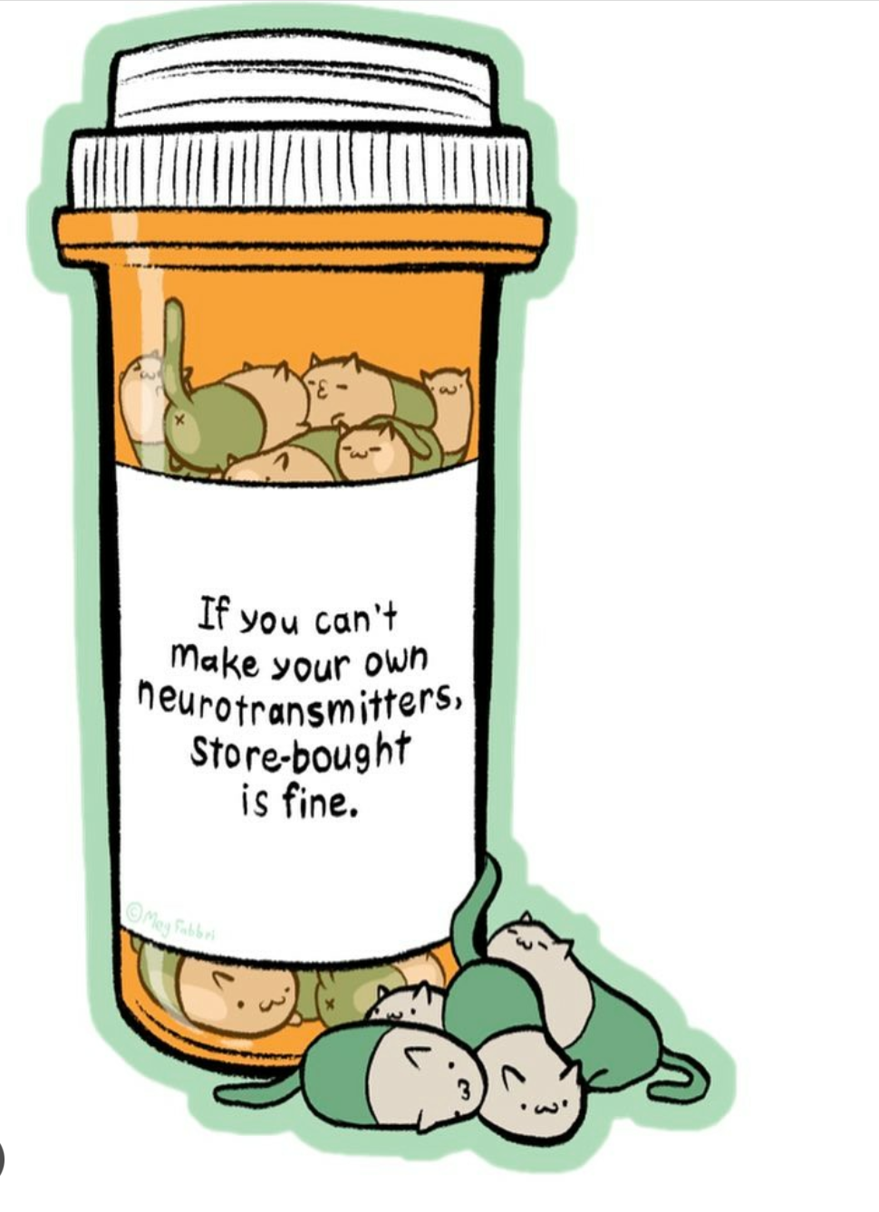 "[Image]It's All Right To Accept Medication. ""You're Perfectly Imperfect."" (X-Post From R/Wholesomememes/)"