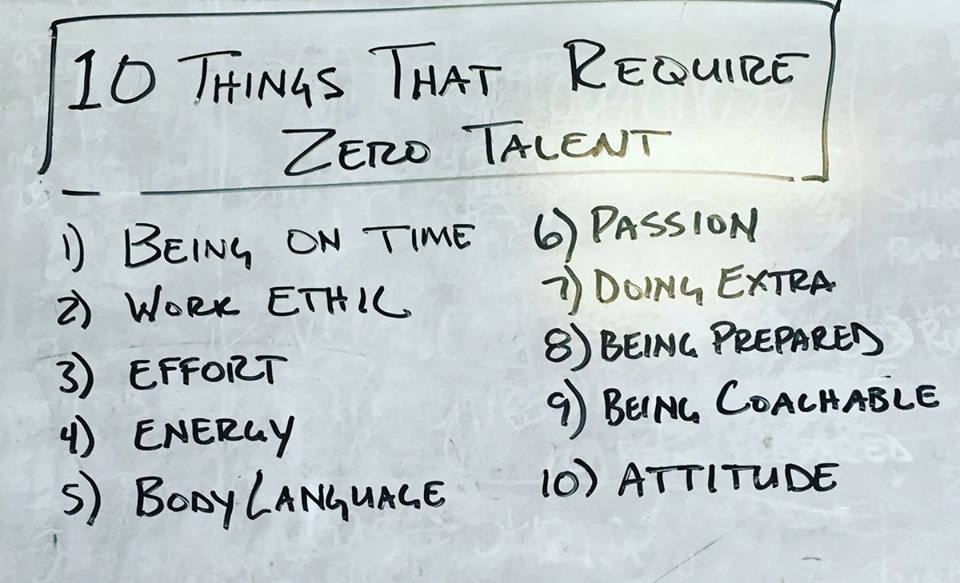 [Image]10 things that require zero talent