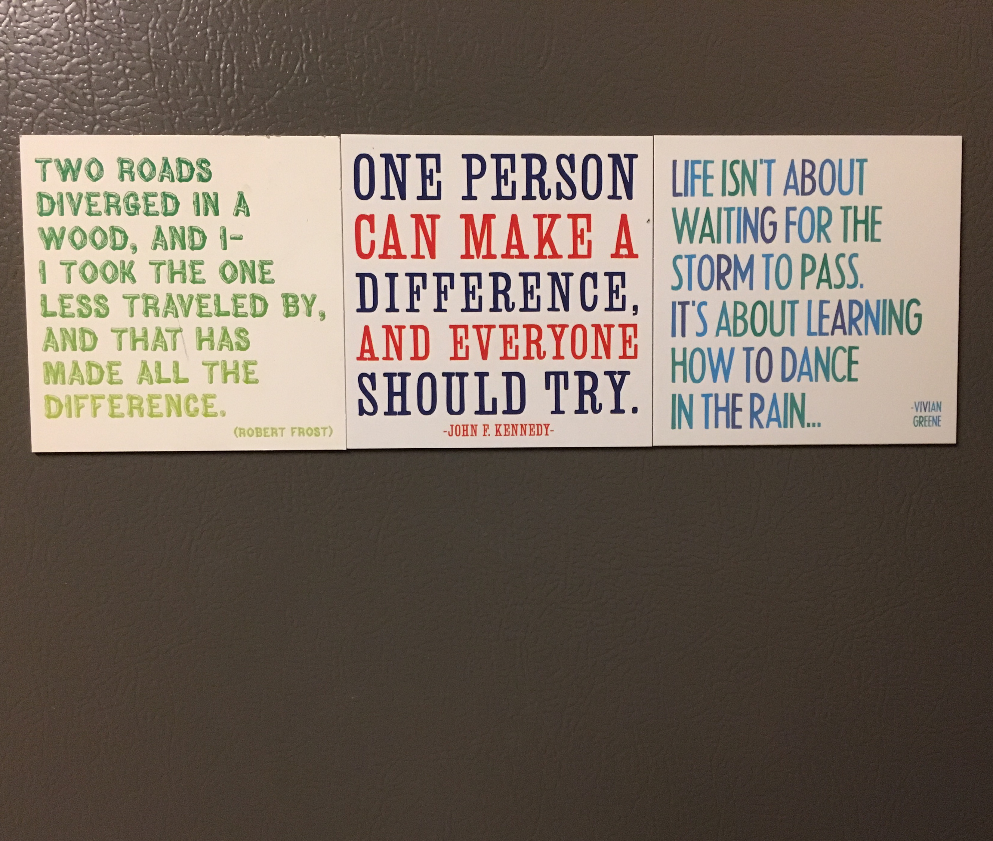 [Image] Fridge magnet wisdom